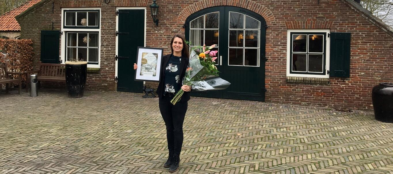 Hoeve Sparrendam in top 3 populairste trouwlocaties